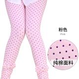 Baobao Bagian Tipis Musim Panas Anak Anak Katun Celana Panjang Anak Perempuan Legging Dw331903 Merah Muda Oem Diskon 30