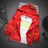 Toko Baobao Kasual Anak Baru Jaket Anak Laki Laki Jas Merah Termurah