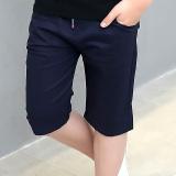 Beli Kebugaran Bagian Tipis Celana Anak Laki Laki Celana Pendek Biru Tua Baru