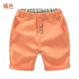 Harga Sayang Kz 9886 Tren Baru Anak Celana Celana Sedang Oranye Asli