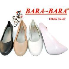 Bara Bara Jelly Shoes Silikon Flat Shoes Cewek Bara 15606 Warna Dikirim Acak Promo Beli 1 Gratis 1