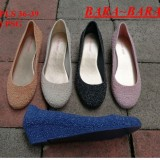 Miliki Segera Bara Bara Jelly Shoes Wedges Closed Toe Wedges Wanita