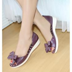 Bara Bara Jellyshoes Jelly Shoes Import F01 Ungu Original