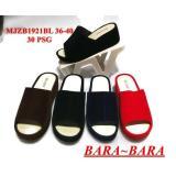 Spesifikasi Bara Bara Sandal Selop Jelly Wanita Warna Dikirim Acak Mjzb1921Bl Yang Bagus