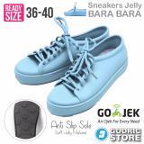 Toko Bara Bara Sepatu Jelly Sneakers Silikon Shoes Cewek Silicone Kets Dd6382Els Sky Blue Bara Bara