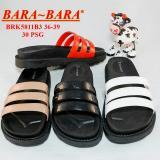 Diskon Bara Bara Sandal Flat Jelly Wanita Brk5811B3 Tidak Bisa Pilih Warna