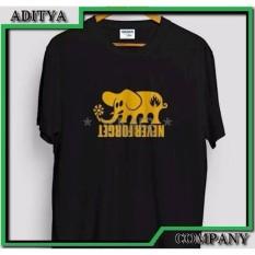 Barang Oke Kaos Tshirt Sablon Gildan 24S Custom Black Label Order Yours Now