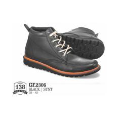 Katalog Baraya Fashion Sepatu Boot Pria Elegan Modern Style Safety Shoes Adventure New Model 2029 Terbaru