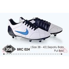 Baricco BRC 024 sepatu sneaker/bola pria Sintetis - bagus&keren (White)