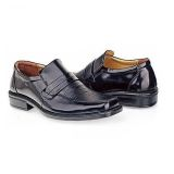 Spesifikasi Baricco Brc 506 Sepatu Pantofel Formal Kerja Pria Kulit Lak Elegan Hitam Dan Harganya