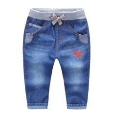 Baru Anak Laki-laki Model Musim Semi Koboi Celana Panjang (Dinosaurus Jeans)