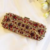 Perbandingan Harga Tas Wanita Wanita Tas Tangan Baru Batu Delima Gaun Merah Model Panjang Angel Di Tiongkok