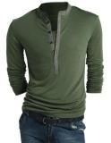 Spesifikasi Baru Bergaya Kasual Pria Terbaik Kaos Lengan Panjang Fit Slim Tee 3 Warnd 4 Ukuran Murah Berkualitas