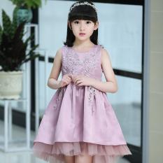 Baru Gadis Gaun Putri Akar Teratai Pati Bk1829 Oem Diskon