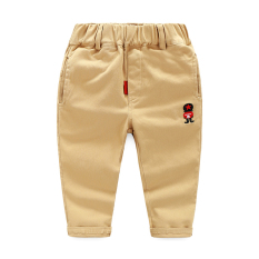 Baru Kecil Anak-anak Celana Cargo Sayang Celana (Gelap Khaki)