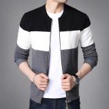 Diskon Baru Musim Gugur Pria Lengan Panjang Sweater Pada Hitam