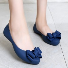 2018 Model Baru Wanita Jelly Sepatu Boots Hujan Hijab Sandal Pantai Anti Selip Tahan Air Sol Datar Sepatu Flat Casual Jelly Sepatu Lapisan Tunggal By Koleksi Taobao.