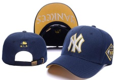 Diskon Baseball Topi Olahraga Unisex New York Yankees Fashion Mlb Indah Sun Dark Blue