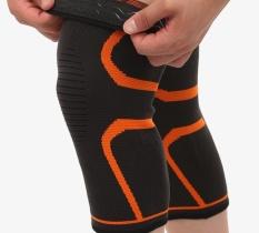 [basket, Bulutangkis, Berlari, Berkuda, Dll] Tipis, Breathable Silicone, Anti Slip Nylon, Athletic Pelindung Lutut-Intl By Liershangmao.
