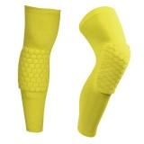 Spesifikasi Basket Lutut Bantalan Football Brace Penopang Leg Lengan Lutut Pelindung Kompresi Lutut Perlindungan Olahraga Keselamatan Kuning Intl Online