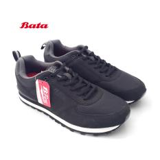 Bata B.FIrst 6565 Sepatu Sekolah Anak Tali Hitam Polos