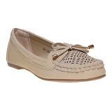 Promo Bata Cella Flat Shoes Beige Bata Terbaru