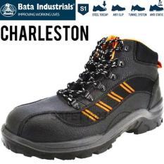 Bata Charleston Sepatu Safety Shoes Industrials Sporty Big Size Murah - Hh367t
