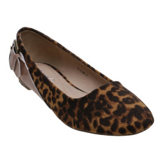 Toko Bata Desta Ballerina Shoes Cokelat Terlengkap Indonesia