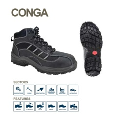 Bata Industrial CONGA Safety Shoes - Black