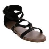 Beli Bata Q3 15 Strappy Sandals Hitam Murah
