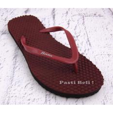 Bata Sandal Jepit Unisex 572-5532 - Maroon