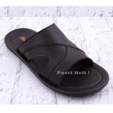 Toko Bata Sandal Kulit Pria Keren Elegant 871 4758 Coklat North Sumatra