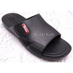 Spesifikasi Bata Sandal Pria Karet Simple 872 6240 Hitam Terbaru