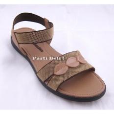 Bata - Sandal Wanita Cantik 561-8455 Coklat Muda