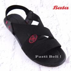 Bata - Sandal Wanita Cantik Hitam 661-6500