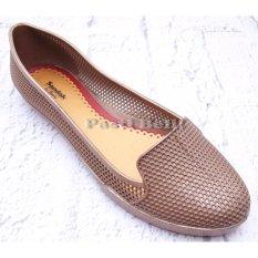 Bata Sepatu Wanita Jelly Karet Emas552-8040