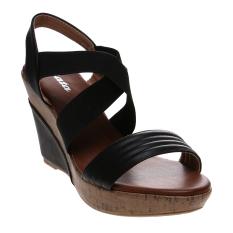 Review Bata Shala Wedge Sandals Hitam Bata Di Indonesia