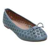 Bata Thais Ballerina Shoes Biru Indonesia Diskon