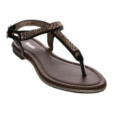 Cara Beli Bata Trist Dress Sandals Hitam