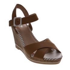 Model Bata Usra Heeled Sandals Beige Terbaru