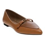 Toko Bata Valte Flats Shoes Cokelat Murah Di Indonesia