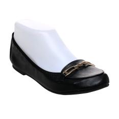 Bata Valti Ballerina Shoes - Hitam