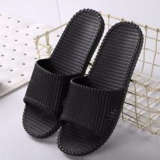 Kamar Mandi Sandal, Pria And Wanita Di Rumah Gunakan Indoor Anti-skid Super Merupakan Model Hambar Panas Musim Pasangan Rumah Plastik Shower Sandal