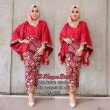Beli Baju Batik Wanita Hazana Batwing Cicil