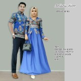Jual Batik Couple Baju Batik Sarimbit Belvania Shiren Satu Set