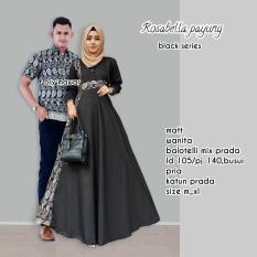 Toko Batik Couple Baju Batik Sarimbit Rosabella Payung Lengkap