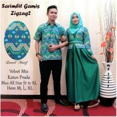 Jual Batik Couple Baju Batik Sarimbit Zig Zag Import
