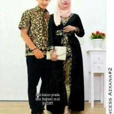Top 10 Batik Couple Batik Sarimbit Batik Kondangan Princess Azkana Black Online