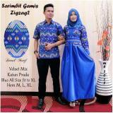 Diskon Besarbatik Couple Batik Sarimbit Batik Pesta Gamis Zig Zag