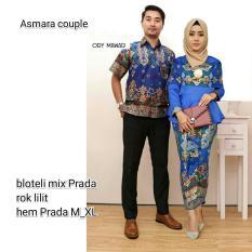 Batik Couple - Batik Sarimbit - Couple Batik - Batik Pesta Asmara
